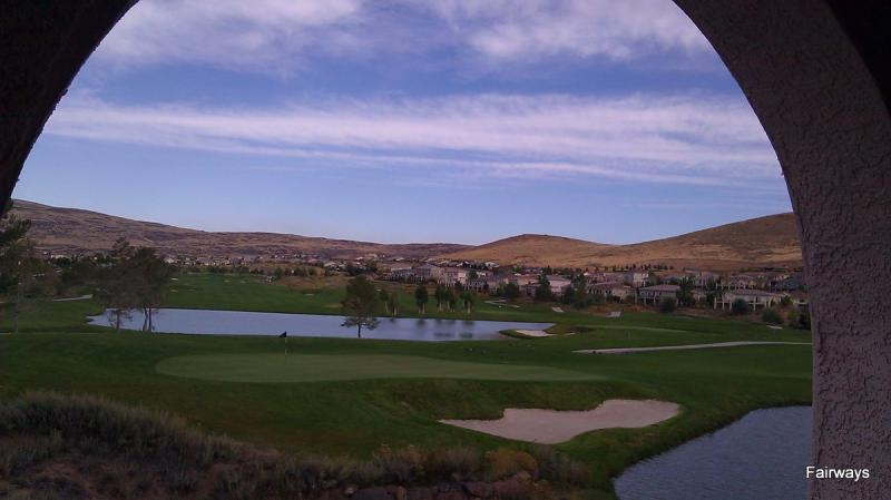 Golf View from Patio